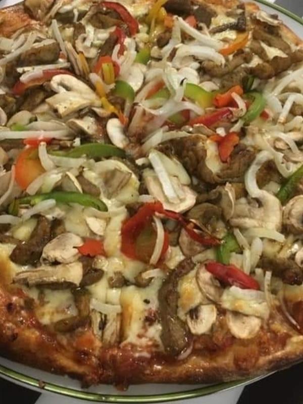 Pizza shoarma speciaal